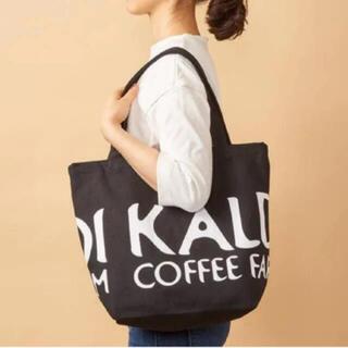 KALDI - KALDI カルディ トートBAG 新品未使用 ブラック