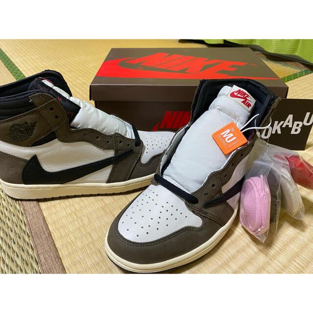 NIKE(ナイキ)のJordan1 Retro High Travis Scott メンズの靴/シューズ(スニーカー)の商品写真