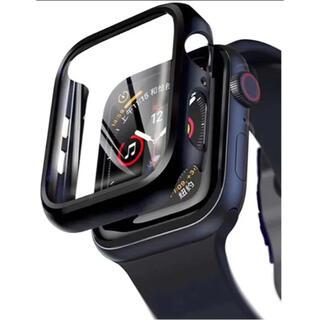 Apple Watch カバー ケース ブラック 44mm   2枚入り
