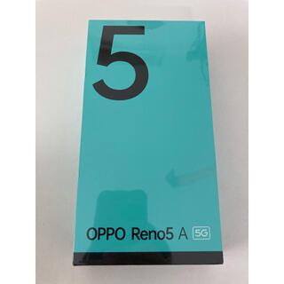 OPPO - oppo reno 5a アイスブルー