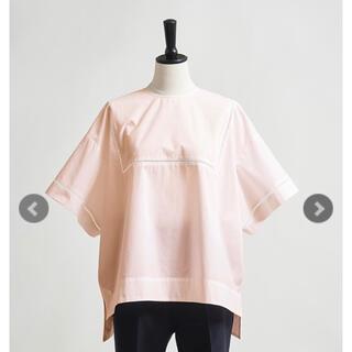 ドゥロワー(Drawer)のyori ハシゴレースブラウス ピンク (シャツ/ブラウス(半袖/袖なし))