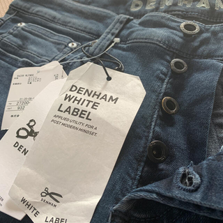DENHAM - ‼️新品未使用タグ付き‼️️デンハム ホワイトレーベル‼️夏デニム‼️