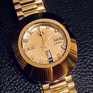 ラドー(RADO)のラドー RADO ダイヤスター 自動巻き  ゴールド 腕時計 ビンテージ(腕時計(アナログ))