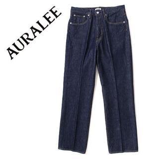 AURALEE HARD TWIST DENIM 5P PANTS パンツ