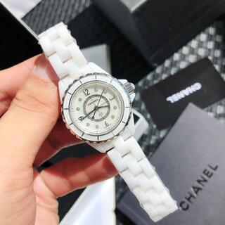 CHANEL - 正規品 シャネルJ12ダイヤ時計