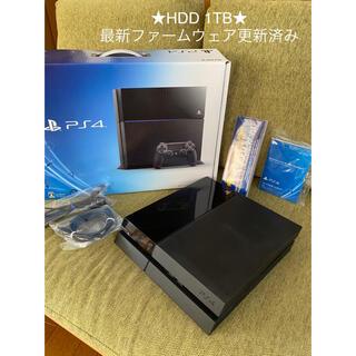 PlayStation4 - PlayStation4,PS4,本体,プレステ4,ブラック,1TB