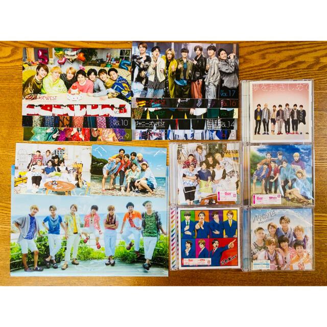 ジャニーズWEST(ジャニーズウエスト)のジャニーズWEST 初回 CD 特典 会報 セット エンタメ/ホビーのタレントグッズ(アイドルグッズ)の商品写真