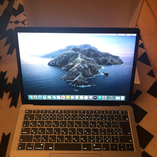 アップル(Apple)のMacBook Air2019(ノートPC)