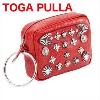 TOGA - 【TOGA PULLA トーガプルラ】メタル レザー ポーチ コンチョ ベルト