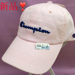 Champion - 【新品・タグ付】チャンピオン キャップ 淡いピンク champion ❣️フリー