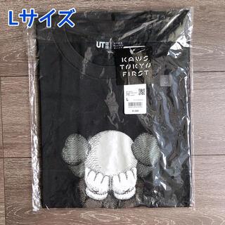 UNIQLO - ユニクロ x カウズ UT グラフィックTシャツ Lサイズ グレー