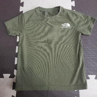 THE NORTH FACE - ノースフェイス カーキ Tシャツ 120