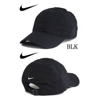 NIKE - 【新品】ナイキ キャップ ブラック 大人サイズ ユニセックス