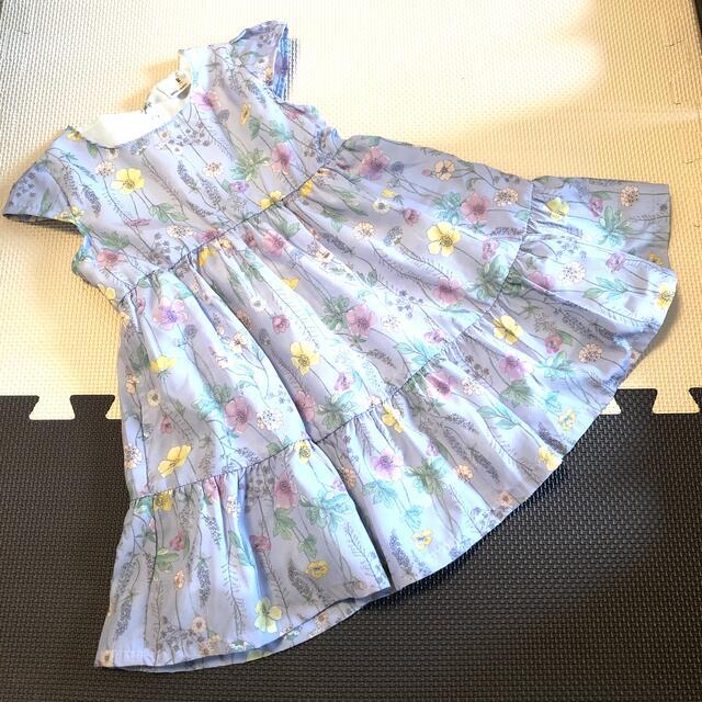 petit main(プティマイン)のプティマイン  ワンピース キッズ/ベビー/マタニティのベビー服(~85cm)(ワンピース)の商品写真