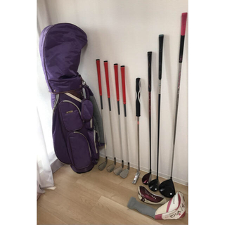 パリスゴルフ(Paris Golf)のK_H様専用♡レディース♡ゴルフクラブセット♡8本セット(クラブ)