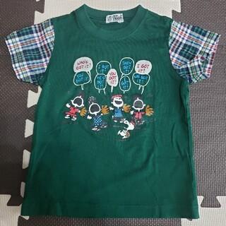 familiar - ファミリア スヌーピー 野球 Tシャツ 110