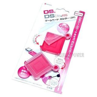 送込 DSi DSiLL DSLite ゲームホルダー ソフトケース ピンク(その他)