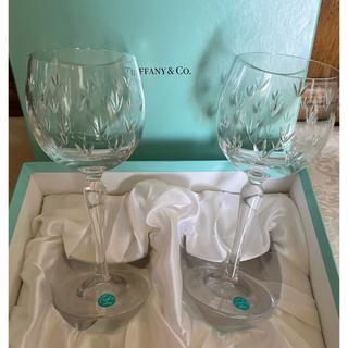 Tiffany & Co. - ティファニーワイングラス 新品