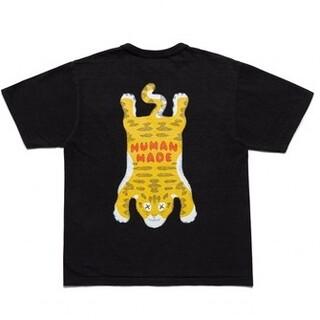 "HUMAN MADE KAWS T-Shirt サイズL#4 ""Black"""
