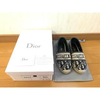 クリスチャンディオール(Christian Dior)のディオール DIOR エスパドリーユ(スリッポン/モカシン)