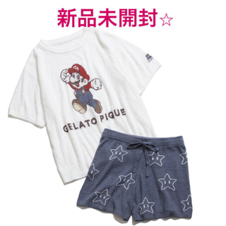 gelato pique - 新品 ジェラート ピケ  【スーパーマリオ 限定商品】スムーズィーセットアップ