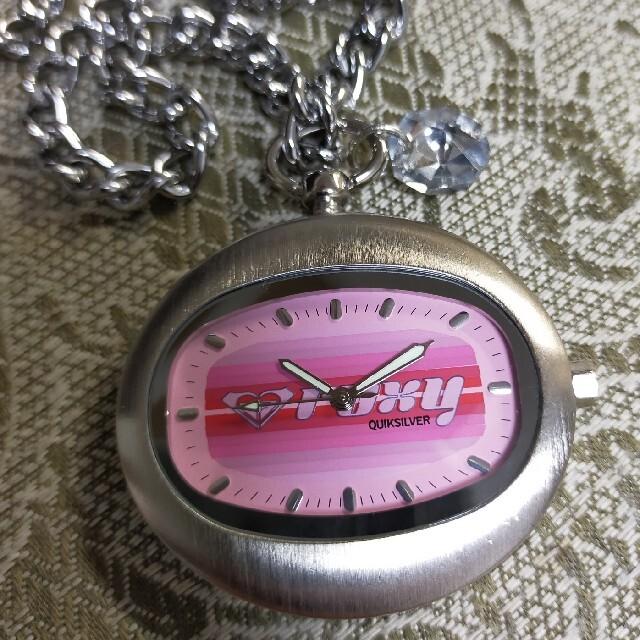 Roxy(ロキシー)の新品/美品  Roxy  ビジュー付き  チェーン ウオッチ《ヴィンテージ》 レディースのファッション小物(腕時計)の商品写真