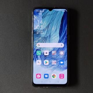 OPPO - OPPO A73 楽天モバイル版 紺 付属品未使用 購入証明書あり