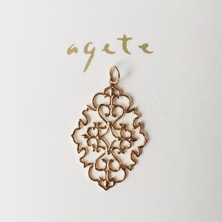 agete - agete ネックレス用チャーム K10