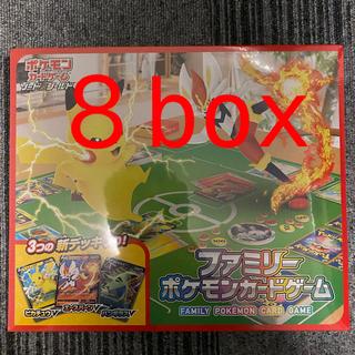 ポケモン(ポケモン)のファミリーポケモンカードゲーム  3セット(Box/デッキ/パック)
