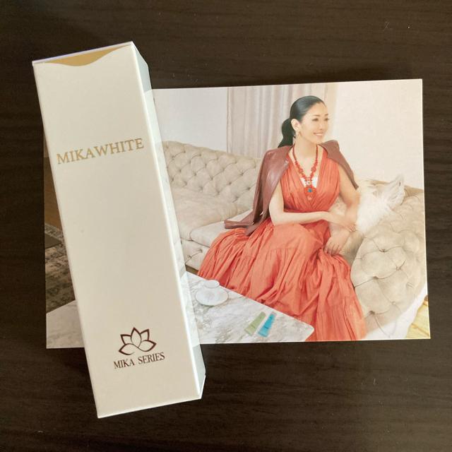 【新品】ミカホワイト  コスメ/美容のオーラルケア(歯磨き粉)の商品写真