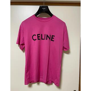 celine - 21SS Celine セリーヌ ロゴ Tシャツ ルーズフィット
