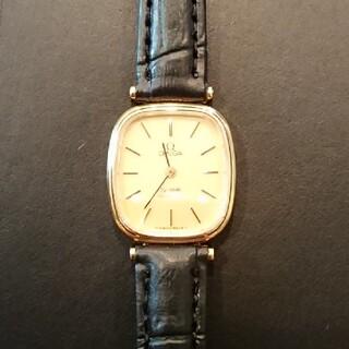 オメガ(OMEGA)のオメガ ヴィンテージ クォーツ式 ゴールド レディース 電池交換済み(腕時計)