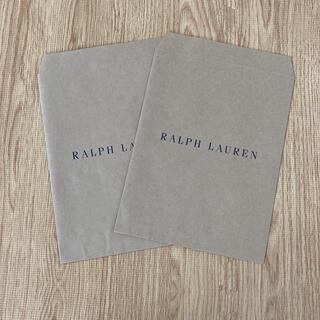 ラルフローレン(Ralph Lauren)のラルフローレン ラッピング袋 2枚(ショップ袋)