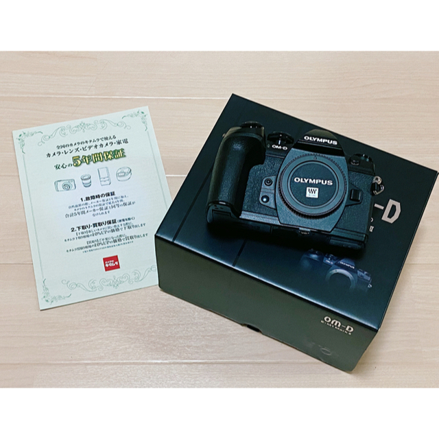OLYMPUS(オリンパス)の7/26購入 OLYMPUS OM-D E-M1 markII キタムラ5年保証 スマホ/家電/カメラのカメラ(ミラーレス一眼)の商品写真