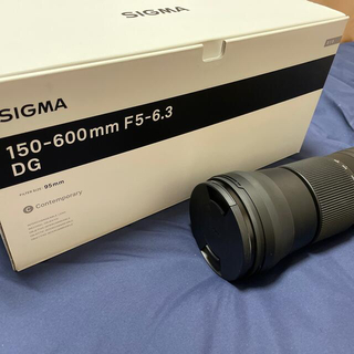 SIGMA - SIGMAレンズ 150-600mm F5-6.3DG