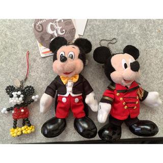 Disney - ミッキーマウスキーホルダーセット