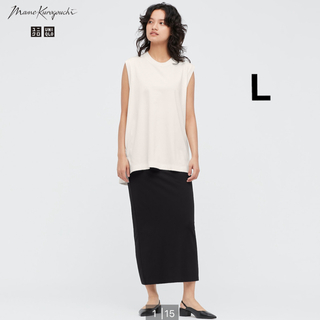 UNIQLO - ユニクロ × mame エアリズムコットンスリットスカート【新品】