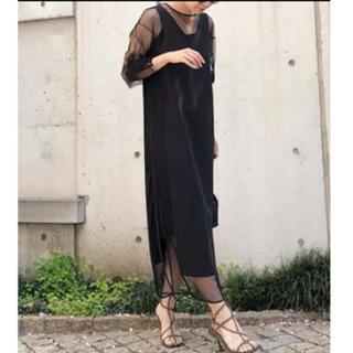 Ameri VINTAGE - 新品ameri vintage tulle docking dress