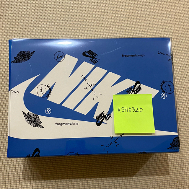 NIKE(ナイキ)のTravis Scott × Fragment × Jordan 25.5cm メンズの靴/シューズ(スニーカー)の商品写真