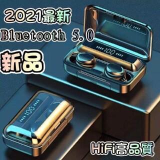 2021最新新品ワイヤレスイヤホン Bluetooth 5.0 自動ペアリング