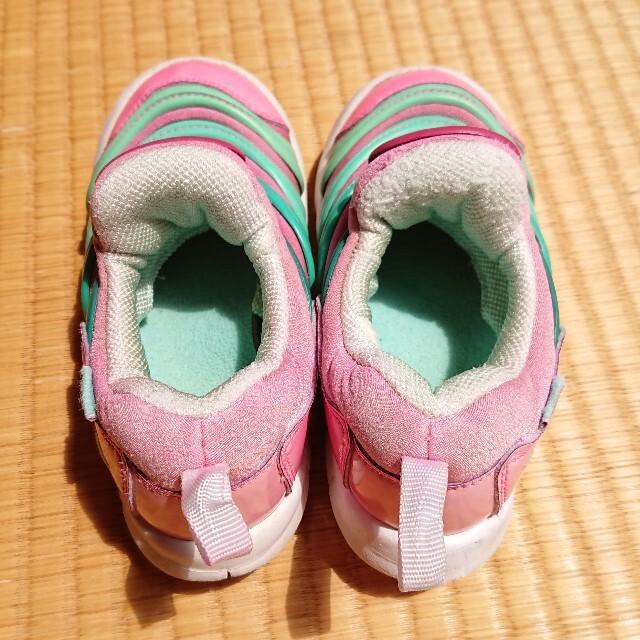 NIKE(ナイキ)のナイキ★NIKE★ダイナモフリー1615ピンク★スニーカー靴 キッズ/ベビー/マタニティのキッズ靴/シューズ(15cm~)(スニーカー)の商品写真