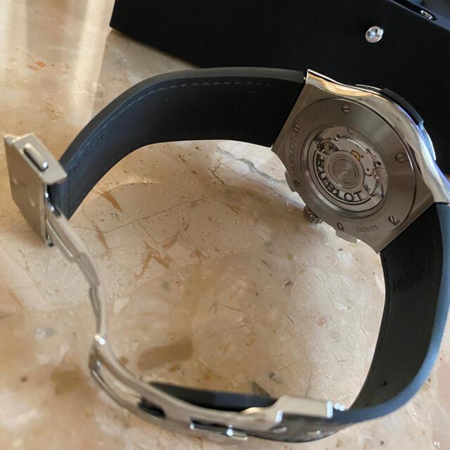 HUBLOT(ウブロ)のHUBLOT ウブロ クラシックフュージョン レーシンググレー メンズの時計(その他)の商品写真