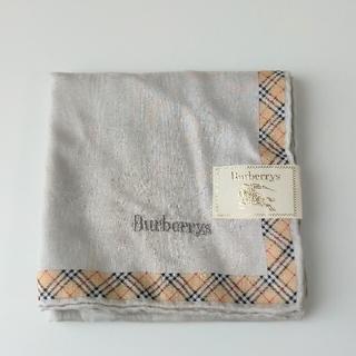 BURBERRY - バーバリー 新品 ハンカチ