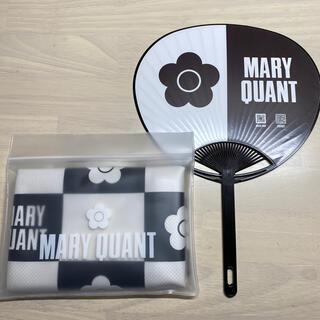 MARY QUANT - 【2点セット】マリークワント 冷感タオル1点 うちわ1点 未使用品