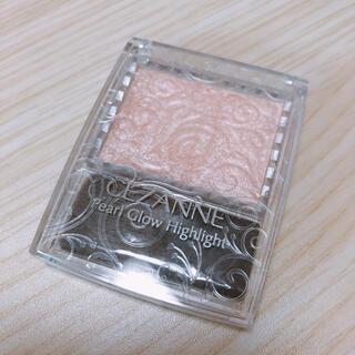 CEZANNE(セザンヌ化粧品) - 【USED】セザンヌ パールグロウハイライト 01 シャンパンベージュ