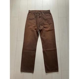 リーバイス(Levi's)の90s リーバイス USA製 カラーデニム パンツ 501 ビンテージ 古着(デニム/ジーンズ)