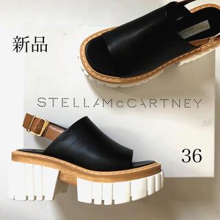 Stella McCartney - 新品/36 ステラ マッカートニー エミリー サンダル ブラック