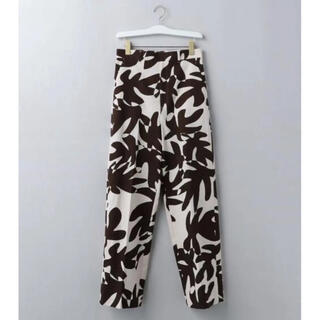 BEAUTY&YOUTH UNITED ARROWS - <6(ROKU)> LEAF PRINT PANTS  リーフ柄 パンツ