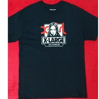 XLARGE - X-LARGE X-GIRL エックスガール コラボ M 黒 ブラック Tシャツ