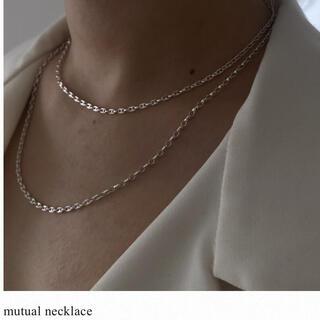 新品未使用 loro mutual necklace 50cm マスクチェーン